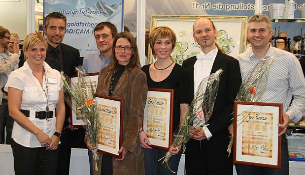 Verleihung des Majesthetischen Zertifikates auf der IDS 2009